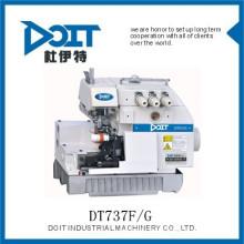 DT737F / G Três linha overlock máquina de costura para calças de luva que faz a máquina