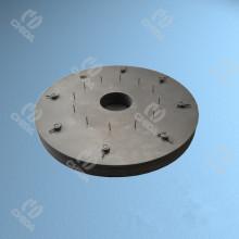 Plaques de couverture en tungstène résistant à la chaleur avec une fabrication compétente