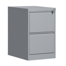 Office Furniture Vertical 2 Drawer Steel File Cabinet