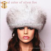 Neue chinesische handgemachte echte Fox Pelz Winter Frauen Hut