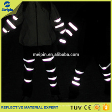 White Reflex/Reflective Safety Fabric Tape For Clothing