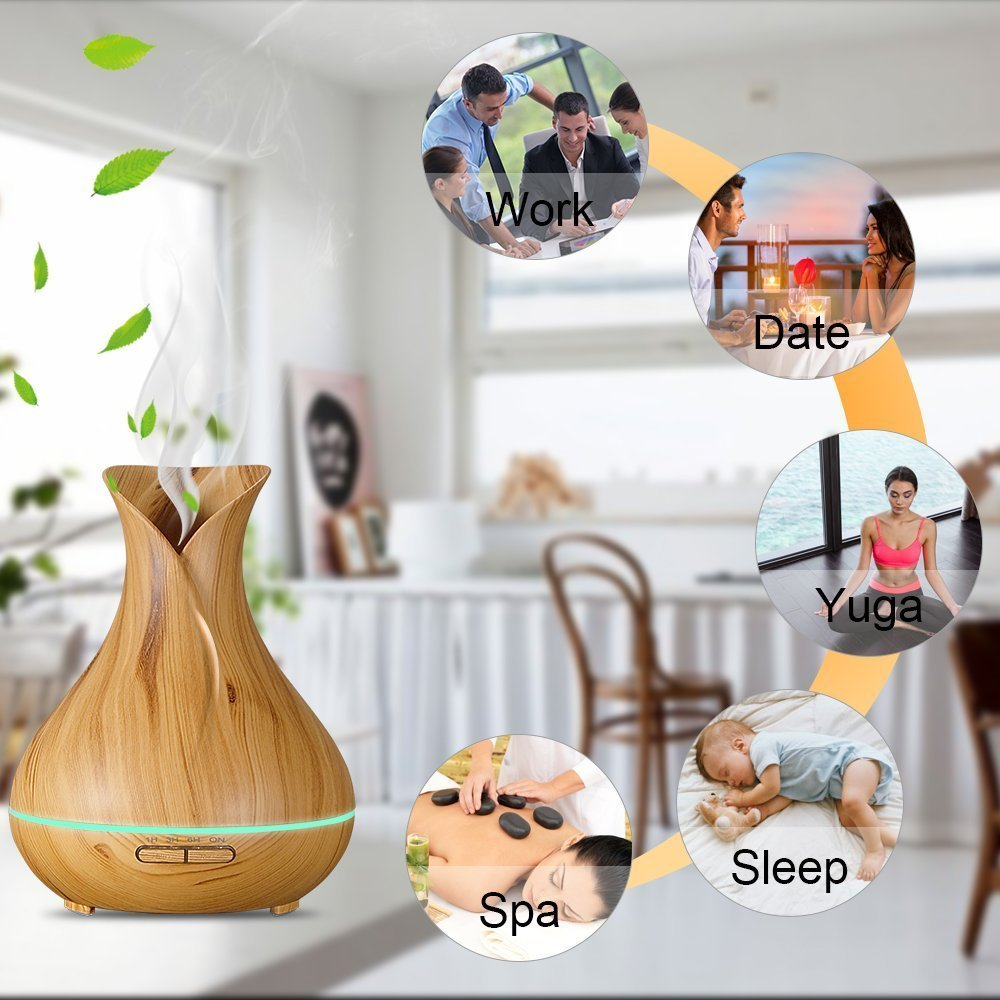 High Quality Ultrasonic Essential Oil Aroma Diffuser