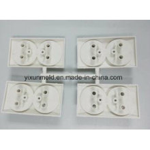 European Style Electrical Outlet Plastic Wall Socket Mold and Parts