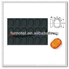 V045 Non-Stick 18 Taps Oval Cake Mold