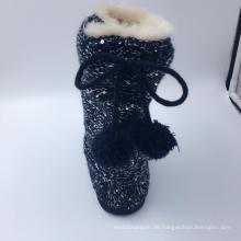 Damen Strick Warm Indoor Slipper