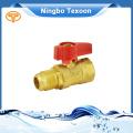 Standard male female ball valve