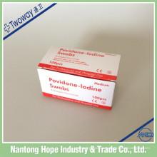 Medizinische Einweg-Povidon-Jod-Vorbereitungspad
