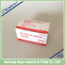 medical disposable povidone iodine prep pad