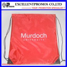 Promocional personalizado Drawstring Nylon poliéster Material Backpack (EP-B6192)