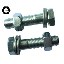 Best Quality DIN6914 Hex Bolt Zinc Finish