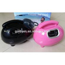 Cama de bronzeamento de corpo pequeno interior Mini HVLP Spray elétrico Tan Gun Profissional Airbrush Home DIY portátil Sunless Tanning Machine