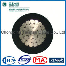 Professional Factory Supply!! High Purity xlpe aerial bundle cable size