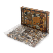Animal Oil Painting Cats Picture 1000 Pieces Adult Mini Piece Jigsaw Puzzle Game