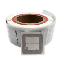 Etiqueta de biblioteca de etiquetas adhesivas de papel imprimible RFID HF