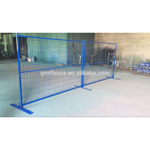 retractable construction temporary fence