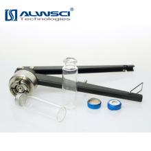 Outil de laboratoire flacons de verre médicaux coupe-bouche pour bouchon de sertissage de 20 mm