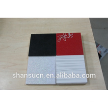 Tablero imprimible blanco de la espuma del PVC para la muestra, tablero impreso de la espuma del pvc