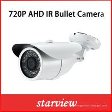 """1 / 2.8 """"Sony CMOS 720p 1.0MP Cámara de seguridad de la bala CCTV de la bala"""