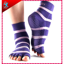 2015 New Design Yoga Toe Socks