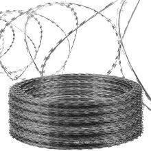 Razor wire factory wholesale hot dipped galvanized razor barbed wire