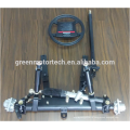 Chassis assembly with high hardness