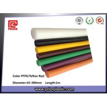 Factory Various Colors PTFE Bar Teflon Rod