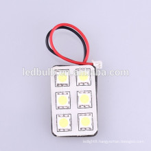 6SMD 5050 DC12V/24V led dome light ,LED interior bulbs