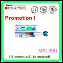 Promotion! CE s'est révélé hospitalisé / pompe à perfusion portable clinique (MSLIS01W)