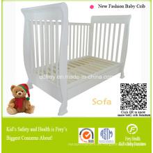 Muebles de madera de pino macizo Bebé sofá cama