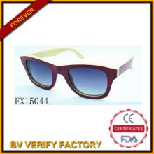 Alibaba-Handel Assurance Polariod Woode Sonnenbrille (FX15044)