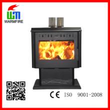 CE nível WM204, inserir moldura de aço quentes Warm madeira lareira