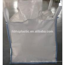 Bolsa FIBC Conductiva de alta calidad con cubierta de faldón