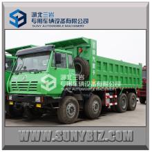 50t Shacman Aolong Army Truck 336HP Kipper