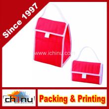 Non Woven Foldable Isolierte Kühler Lunch Bag (920073)