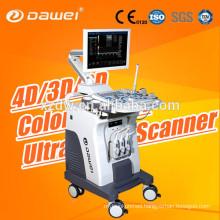3D color doppler C80 Dawei & trolley 2D laptop ultrasound scanner for pregnancy and fetus liver kidney