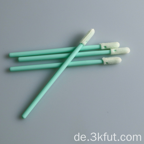 Industrielle Verwendung Small Head Cleanroom Foam Tip Swab