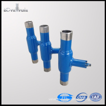Float ball valve cast iron welding ball valve