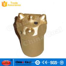 Рок буровой головки карбида вольфрама 32 ,34,36,38 мм Жесткий рок Сплющенный буровой наконечник кнопки биты