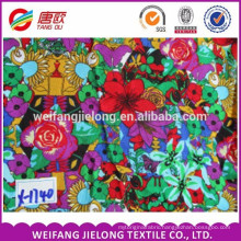High Quality Reactive Plain and Printed Woven 100% Viscose Spun Rayon Fabric, Viscose Twill