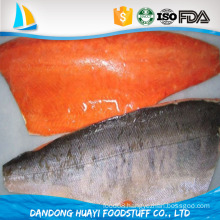 new arrival frozen fresh chum salmon fillet