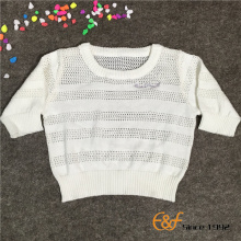 100%Cotton Thin Summer Sweater for Baby Girls