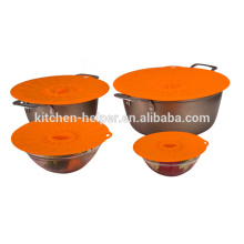 Best selling custom silicone sealing lid silicone suction lids for bowl