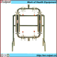 Double Pipe Filter for Milk Line