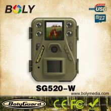 Самый маленький беспроводной ночного видения охоты камеры SG520-W с 12Megapixel HD-видео 720p дальность обнаружения 85feet