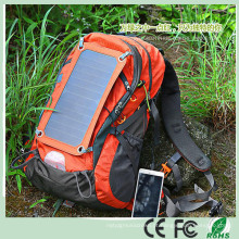 6.5W Sunpower Waterproof Nylon Solar Hiking Mochila (SB-180)