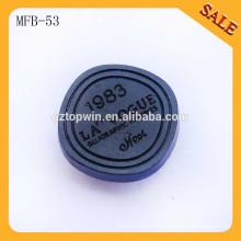 MFB53 Пользовательские металлические кнопки с квадратной крышкой