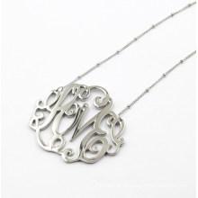 Pingente de prata da flor para a jóia da forma da colar