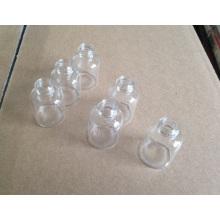 Atornillado de 5ml frasco de cristal transparente Mini con alta calidad