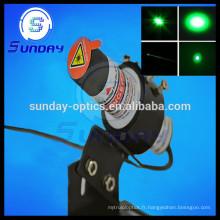 Module laser de point vert de 532nm, 1mw, 5mw, 10mw, 20mw, 50mw, 100mw, 200mw