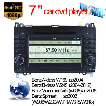 Car Video for Mercedes-Benz a Class Car DVD Player (2005 Onwards) with DVB-T MPEG4/ISDB-T/ATSC-Mh